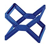 Durable 261106 - Carry Plus, Supporto per Cartelle Sospese Blue Angel, per 30 Cartelle, Interasse 330 mm, 362 x 260 x 320 mm, Azzurro