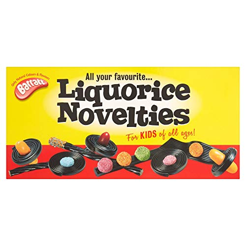 Barratt Liquorice Novelties 487 g (Pack of 2)