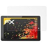 atFoliX Película Protectora Compatible con Chuwi HiBook Pro Lámina Protectora de Pantalla, antirreflejos y amortiguadores FX Protector Película (2X)