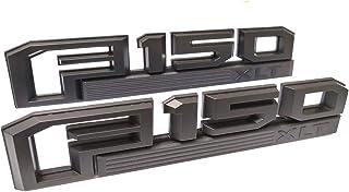3D Metal Letters 3M Adhesive Sticker Black Matte SOONA Emblem Badge for Dodge RAM Tailgate