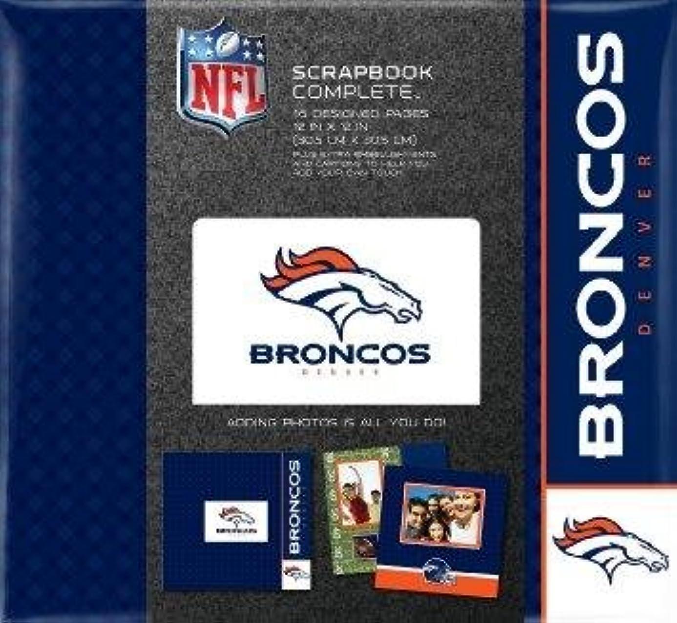 C.R. Gibson Denver Broncos Complete Scrapbook 12