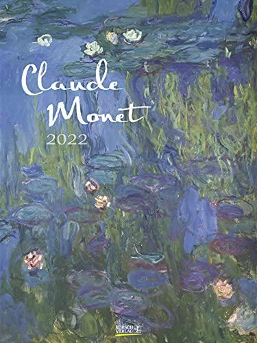 Claude Monet 2022: Großer Kunstkalender. Edler Wandkalender mit den besten Werken des Künstlers. Impressionismus. Kunst Gallery Format: 48 x 64 cm.