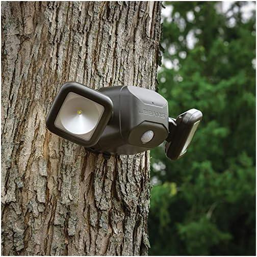 Mr. Beams MB3000 High Performance Wireless Battery Powered Motion Sensing LED Dual Head Security Spotlight, 500 Lumens… 4