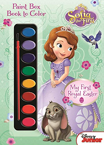 Bendon Disney Sofia The First 48-Page My First Royal Easter Coloring and Activity Book with 8 Watercolors