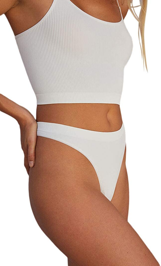 LA Hearts by PacSun Womens Seamless Ribbed High Waisted Thong