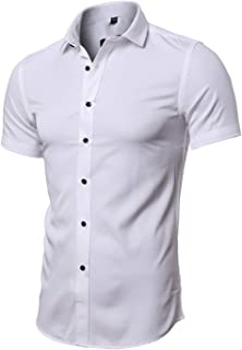 men's short sleeve bamboo shirts