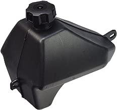 AlveyTech Black Plastic Fuel Tank for 50cc, 70cc, 90cc, 110cc ATVs from Baja Motorsports, Roketa, SunL, Taotao