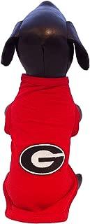NCAA Georgia Bulldogs Cotton Lycra Dog Tank Top
