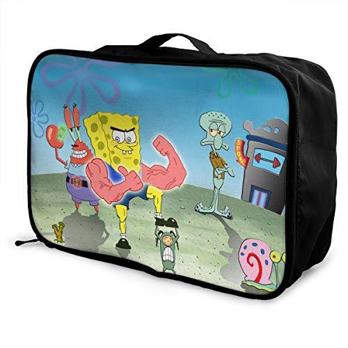 Meirdre - Borsone da viaggio per bambini Winnie The Pooh, leggero, grande capacità, portatile, borsa per weekender durante la notte