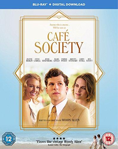 Café Society [Blu-ray] [2016] [Region Free] UK-Import, Sprache-Englisch