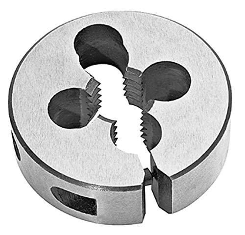 Utoolmart 1/16-27NPT Round Die Machine Thread Die 9CrSi Steel Machine Round Threading Die 1pcs
