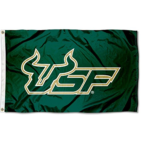 USF South Florida Bulls University Large College Flag