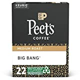 Peet's Coffee K-Cup Coffee Pods for Keurig Brewers, Medium Roast, Pods, Big Bang, 22 Count (Pack of 1)
