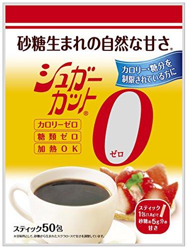 『浅田飴 シュガーカット顆粒ゼロ 50包』のトップ画像