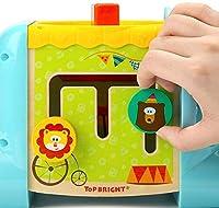 TOP BRIGHT Cubo Multiattività Bambini - Giochi in Legno per Bambini 1 Anno – Cubo Interattivo per Bimbi e Bimbe – Gioco Educativo – Ottima Idea Regalo Bambini #3