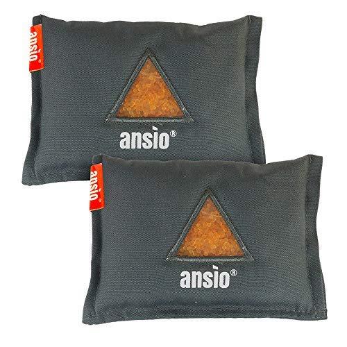 ANSIO Car Dehumidifier Reusable Moisture Absorber Bag, Automotive Dehumidifier Removes Condensation and Mold - 2-pack