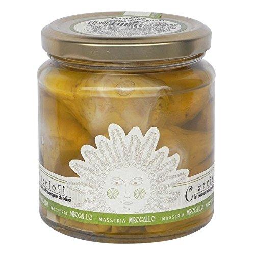 Masseria Mirogallo, Carciofi in olio extra vergine