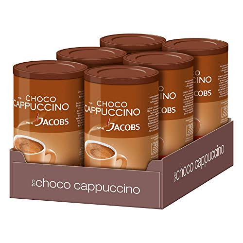 Choco Cappuccino von Jacobs Dose, 6er Pack (6 x 500 g)