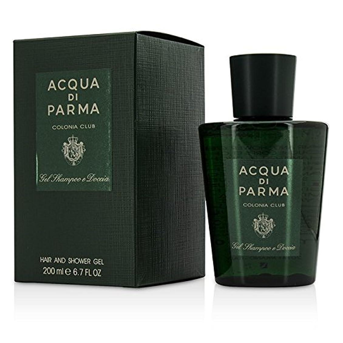 支出鎮痛剤ウェイターアクアディパルマ Acqua di Parma Colonia Club Hair & Shower Gel 200ml/6.7oz並行輸入品