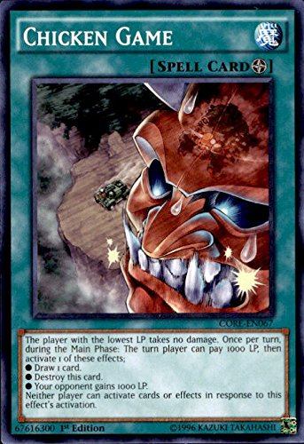YU-GI-OH! - Chicken Game (CORE-EN067) - Clash of Rebellions - 1st Edition - Common