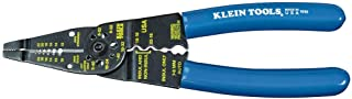 Klein Tools 1010 Multi Tool Long Nose Wire Cutter, Wire Crimper, Stripper and Bolt Cutter Multi-Purpose Electrician Tool, ...