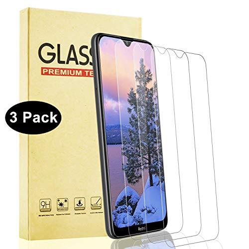 Lixuve Protector Pantalla para Xiaomi Redmi Note 8T Vidrio Templado, 3 Unidades Alta Definicion Cristal Templado con Anti-Huellas, Alta Sensibilidad, Anti-Arañazos