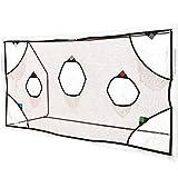 QuickPlay PRO Soccer Goal Target Nets with 7 Scoring Zones Practice Shooting & Goal Shots