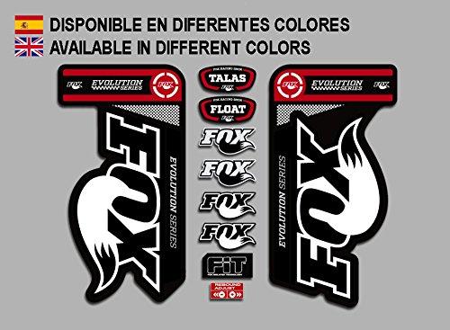 ECOSHIRT ARTICULOS Y VINILOS PERSONALIZADOS PEGATINAS Fox Float Talas 32 PAD01 Stickers AUFKLEBER Decals Autocollants ADESIVI