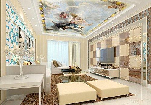 Yosot Aangepaste Luxe 3D Behang Engel Olie Schilderen Gebruikt in De Woonkamer Slaapkamer Tv Plafond Behang 200cmx140cm