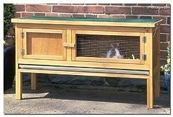 Kaninchenstall - 116x66x45cm - Hasenstall