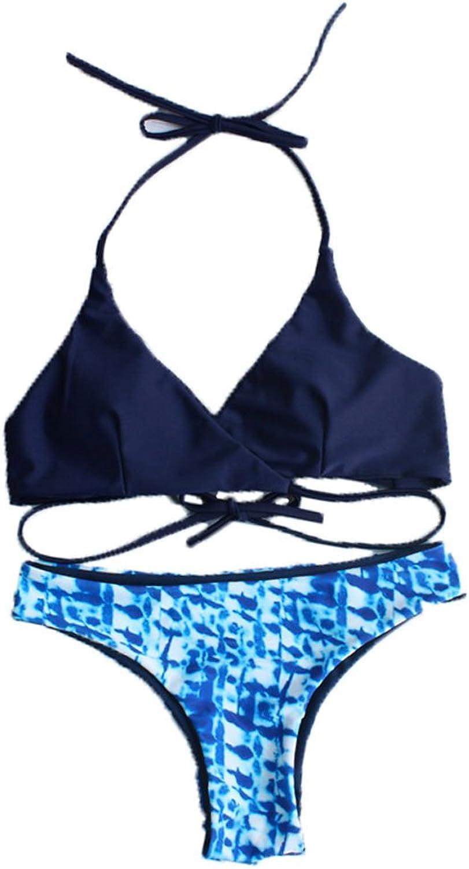 FashionPlus Womens Padded Pushup Bikini Set Bathing Suits Swimsuit Two Piece