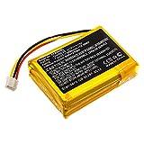 subtel® Qualitäts Akku kompatibel mit Philips Fidelio B5, 104050-2S, 2ICP11/41/54 2500mAh Ersatzakku Batterie