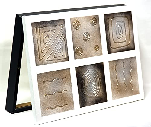 Cuadroexpres - Cubre Contador Moderno Pintado 30x45x4 cm (Interior) Caja Decorativa para Cuadro Eléctrico. En Melamina Negra. Cierre de imán y Tornillos para Fijar en la Pared.