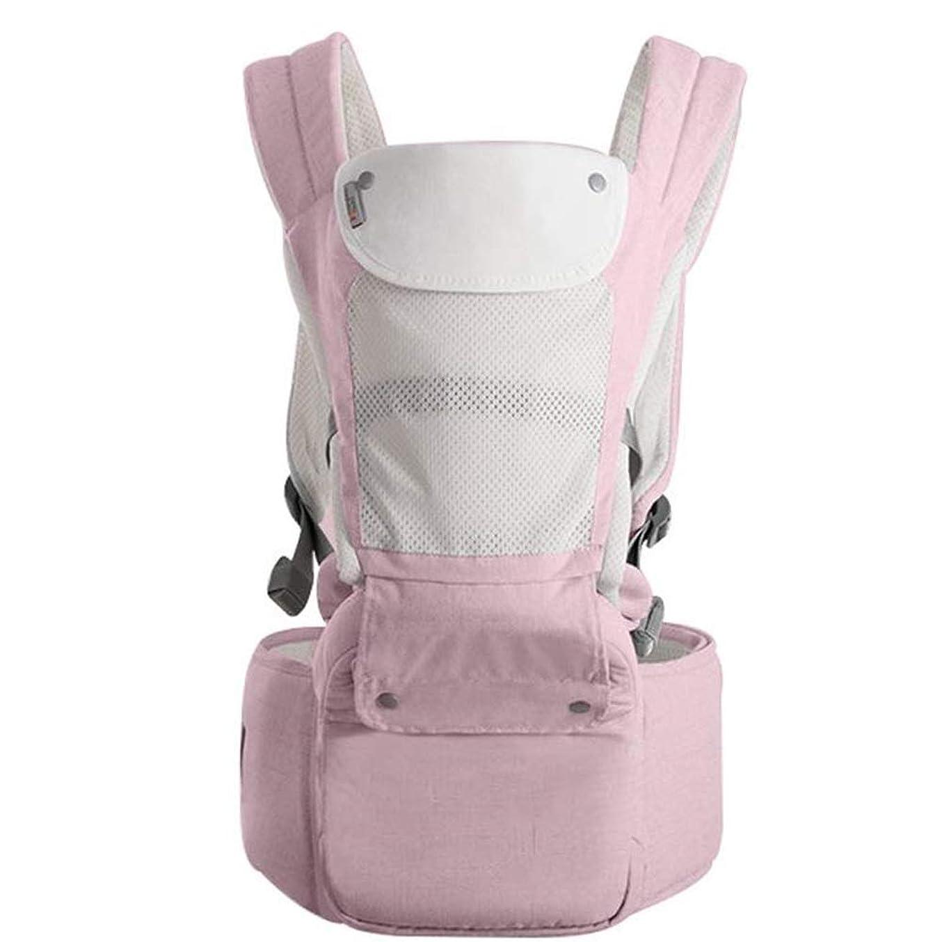 滑り台逸脱区別するJKLL 屋外の旅行のためのベビーキャリアエルゴノミックベビーキャリア3in1の安全幼児ベビーヒップシート