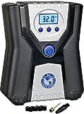 P.I. Auto Store - Premium 12V DC Tire Air Compressor Pump, Portable Digital Automatic Tire Inflator. With Carry Case