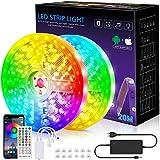 Ruban LED, Bande lumineuse LED de 20m avec le contrôleur Bluetooth,...