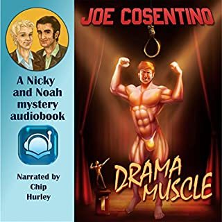 Drama Muscle audiobook cover art