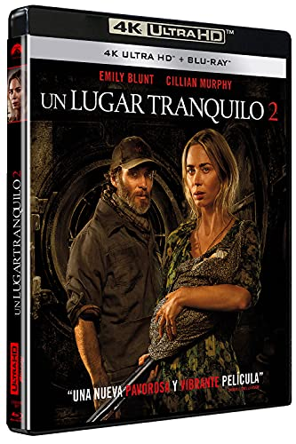 Un lugar tranquilo 2 (UHD) - BD [Blu-ray]