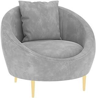 Sillas de la cocina del hogar de la sala de sillas Sofá Presidente de la Sección Red nórdica neto pequeño sofá Tienda de ropa Ocio Silla Silla de hierro forjado doble dormitorio Luxury Light