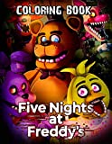 Five Nights At Freddy's Coloring Book: Awesome Coloring Book For Kids Ages 4-12
