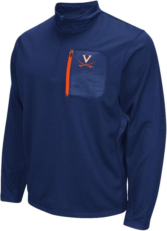 65846d327e84 NCAA Virginia Cavaliers Quarter Fleece Sweatshirt Mens Zip ...