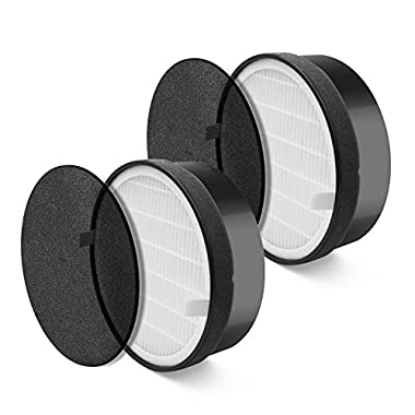 LEVOIT Air Purifier LV-H132 Replacement Filter (2 Pack)