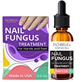 Tachibelle Finger & Toenail Fungus Treatment STRONG Made in USA Nail Fungus Care Infected Nails Best Antiseptic Toe Nail 0.5 oz
