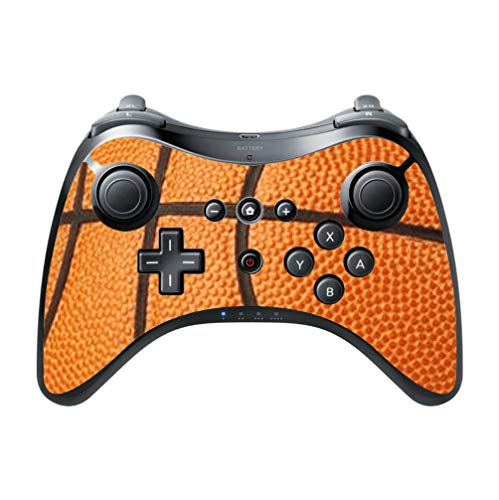 Basketball Basket Ball Basketball Background Vinyl Decal Sticker Skin by Moonlight Printing for Wii U Pro Controller