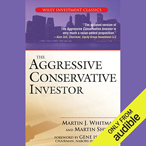 The Aggressive Conservative Investor audiobook cover art