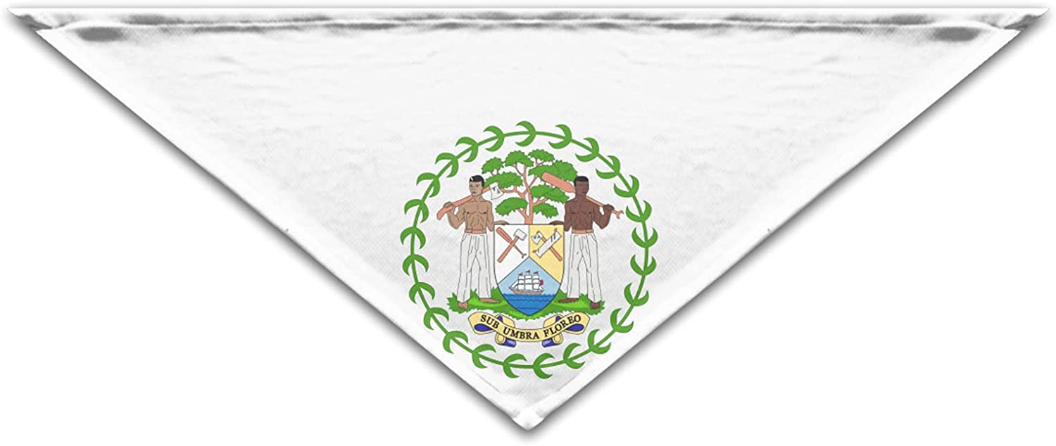 Belize Coats of Arms Cool Bandanas Birthday Easy-to-use Fashion S Funny online shop Gift