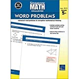 Singapore Math – Challenge Word Problems Workbook for 5th, 6th, 7th, 8th Grade Math, Paperback, Ages 10–11 with Answer Key