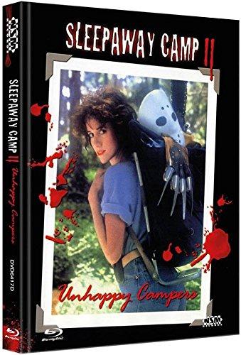 Sleepaway Camp 2 - Das Camp des Grauens 2 - Uncut - auf 222 limitiertes Mediabook Cover D [Limited Edition / Unrated inkl. Postcards] DVD - Blu-ray (Ausverkauft)