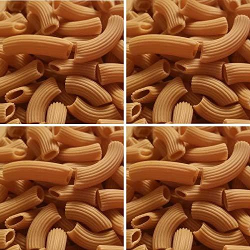 4x PALEO Nudeln aus Sesammehl Kohlenhydratreduzierte Pasta GLUTENFREIE Nudeln Gourmet Delikatesse 4x 250g (4x Rigatoni)