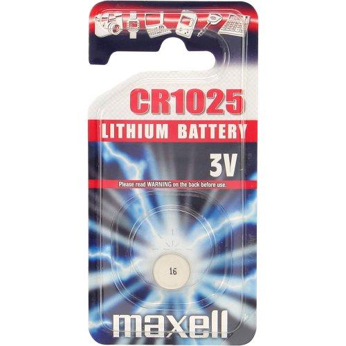 Maxell CR1025 - Pilas (Litio, Button/Coin, 3V)